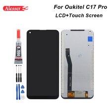 ل Oukitel C17 برو شاشة الكريستال السائل و شاشة تعمل باللمس الجمعية إصلاح أجزاء مع أدوات و لاصق ل Oukitel C17 برو الهاتف