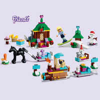 01041 Friends Advent Calendar Building Block Thanksgiving 24pcs Gift Bricks Toys Compatible Friends Christmas Gift 41326