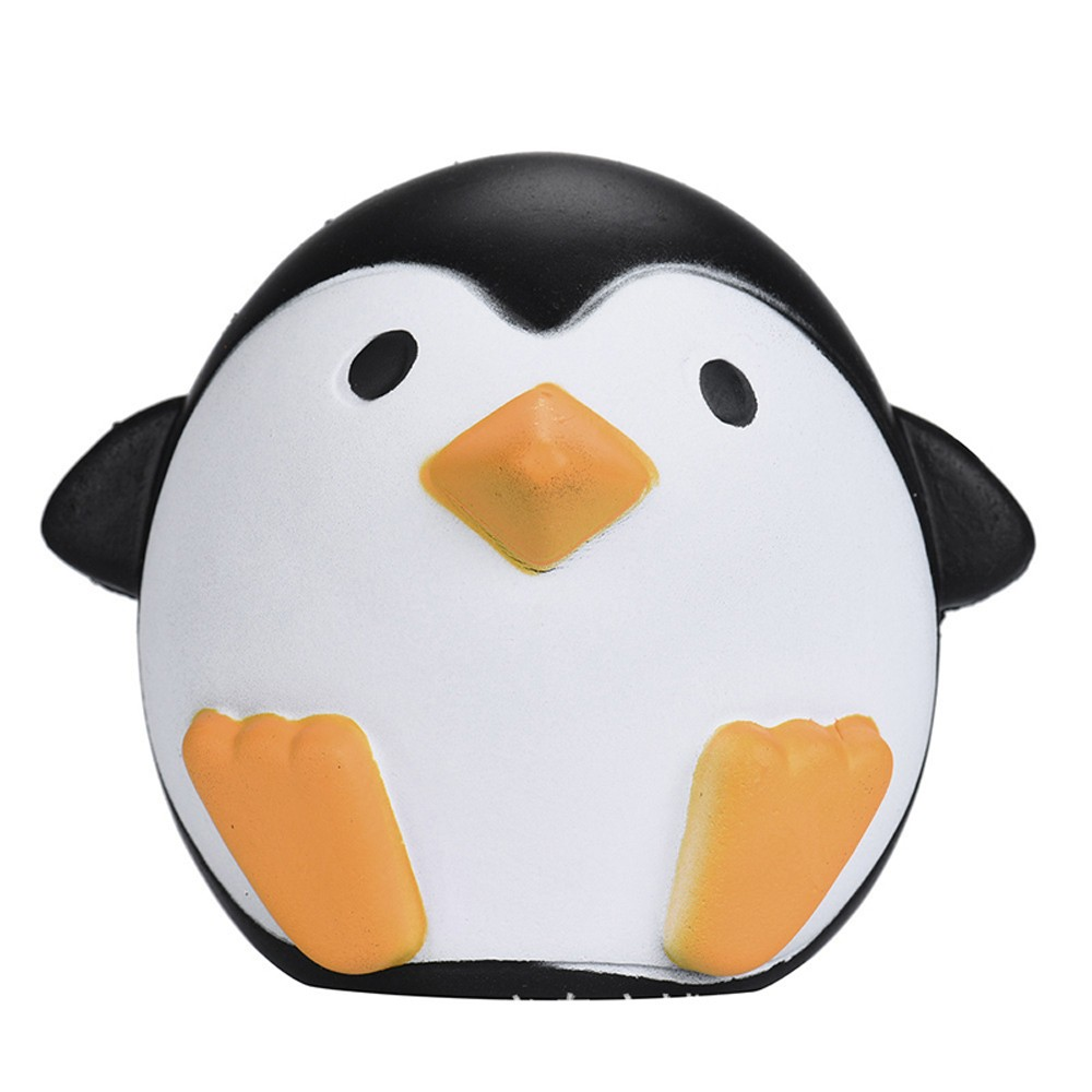 Slow Rising Squishy Penguin Stress Relief 10cm Soft Kawaii Animals Cute Collection Gift Decor Toy Good Gift For Kid