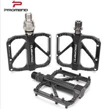 PROMEND-Pedal ultraligero de 3 rodamientos para bicicleta, accesorio de aleación de aluminio de liberación rápida, antideslizante