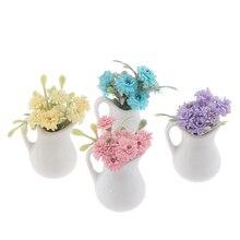 Dolls House Doll Flower Flower Pot 1:12 #5aa5-25