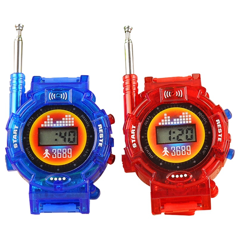 Hot-Children'S Toy Watch Walkie-Talkie Military Intercom Toy Camping Toy