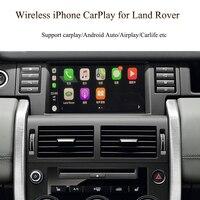 무선 Apple Carplay Android 자동 인터페이스 Jaguar F-Pace F-Type XE XF XJ 기존 화면 디스플레이 업그레이드 주차 시스템