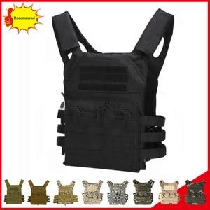 Image 1 - Тактический бронежилет JPC Molle для переноски тарелок, военное снаряжение, армейский охотничий жилет, уличный жилет для пейнтбола, CS Wargame, страйкбола