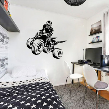 Quad Bike Wall Sticker