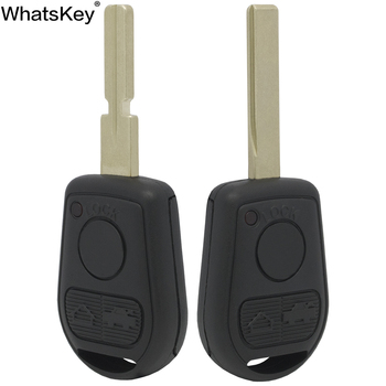 WhatsKey 3 Button Car Key Shell Cover Fob Case For BMW Z3 E31 E32 E38 E34 E36 E39 E46 Replacement Key Uncut Blade image