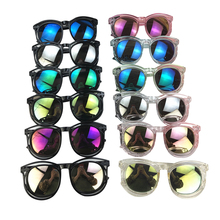 Little Kids Boy Girl Summer Wayfarer Sunglasses Round Hollow
