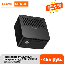 CHUWI – Mini PC de bureau LarkBox 4K, avec processeur Intel Celeron J4115 Quad Core, 6 go de RAM, 128 go de ROM, Windows 10, HD USB-C
