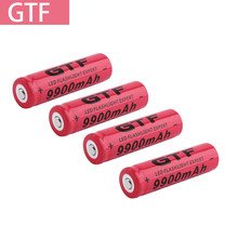 Bateria recarregável de alta capacidade do li-ion da bateria recarregável de 3.7v 18650 9900mah para a bateria do farol da tocha da lanterna elétrica
