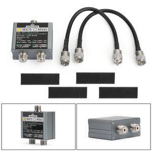 Artudatech MX72 햄 안테나 결합기 HF VHF UHF 다중 주파수 전송 스테이션 듀플렉서