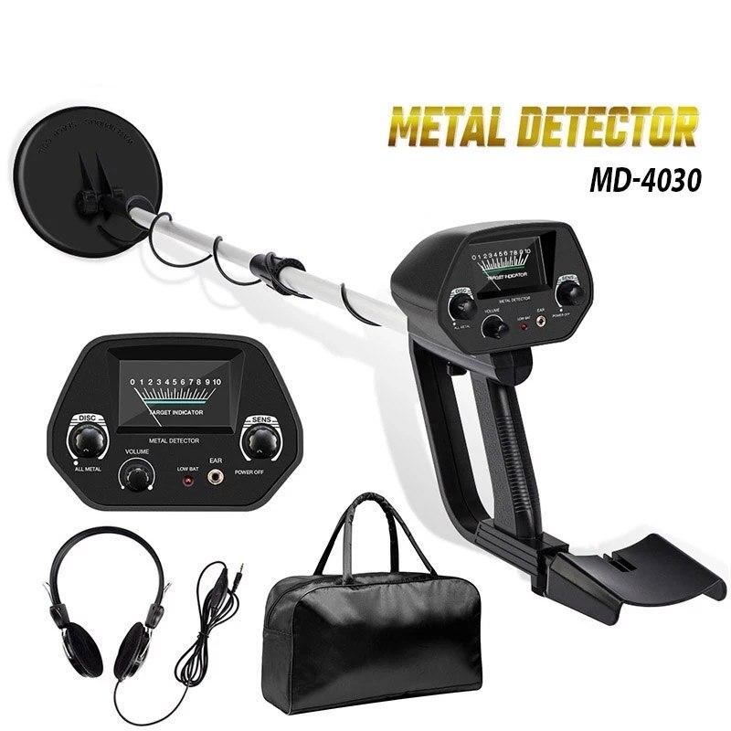Détecteur de métaux MD-4030 détecteur dor souterrain longueur de métal détecteur de chasseur de trésor réglable détecteur de chasseur Portable