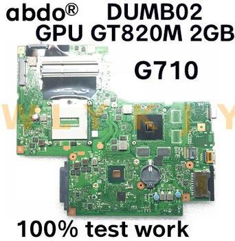 Abdo DUMB02 MAIN BOARD for Lenovo G710 notebook motherboard PGA947 GPU GT820M  GT720M 100% test work 1