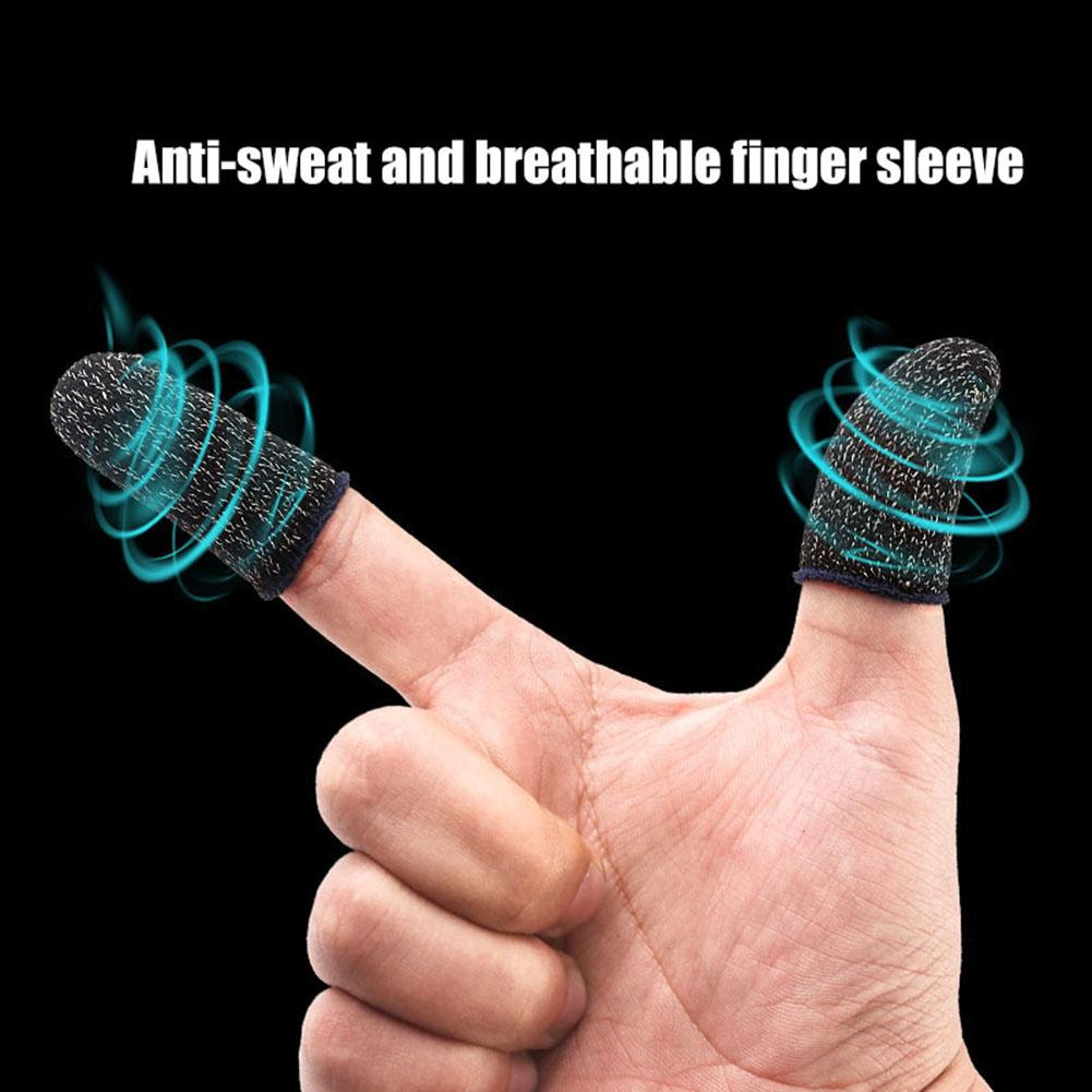 Breathable Non-Slip Mobile Phone Game Touch Screen Finger Sleeve Controller