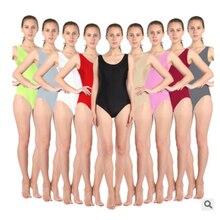 Adult Women White Black Green Orange Gymnastics Leotard Ballet Dancewear Metallic Dance Leotard Bodysuit Gymnastic Unitard