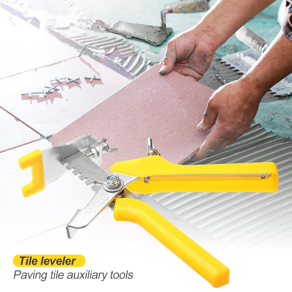 Plastic Clip Locator Spacers Tile Leveling Pliers Floor Installation Tiling Construction Tools Reduces Pressure On Installer