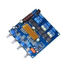 TPA3116 Bluetooth 4.2 Audio Digital Amplifier Board 2.1 Subwoofer Amplifier 50+50W+100W Bass HIFI Tone Board(China)