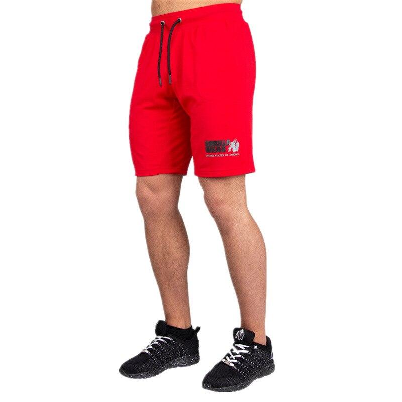 2019 Men Gyms Fitness Bodybuilding Shorts Summer Casual Fashion Beach Short Pants Male Crossfit Workout Cotton Sweatpants Shorts