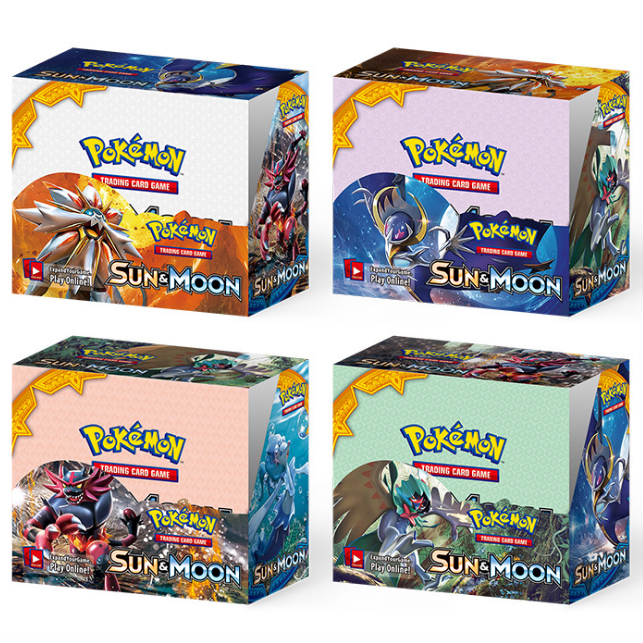 324Pcs Pokemon TCG: Sun & Moon Unbroken Bonds Booster Box Trading Card Game Pokemon Card Kids Toys image