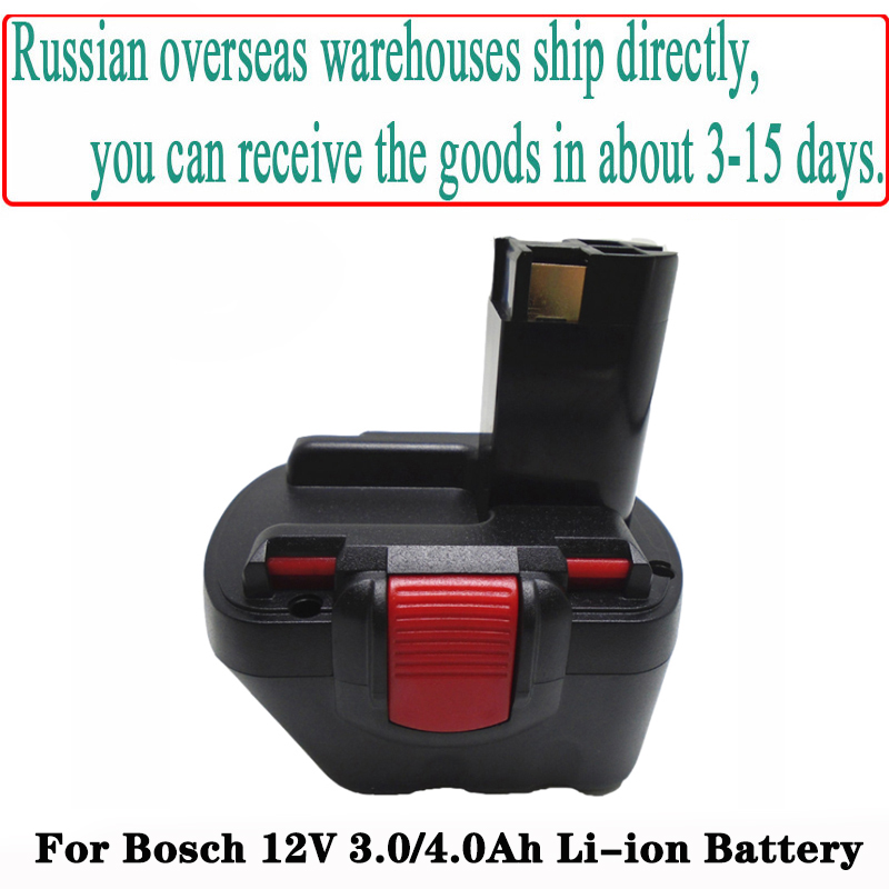 2X 12V 3Ah Akku für Bosch BAT043 BAT045 BAT120 BAT139 2607335542 GSR GSB PSR GSB
