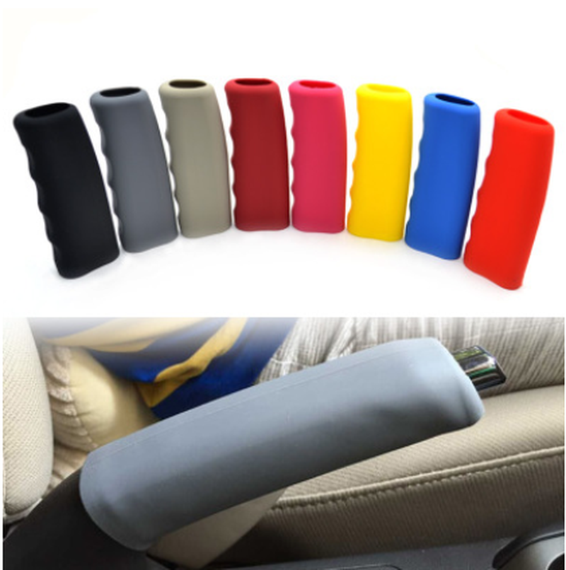 Decoration Anti-slip  Brake Grips Sleeve Case Silicone Gel Car Handbrake Covers
