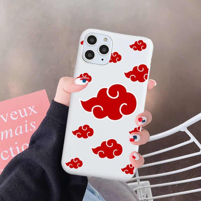 GYKZ יפן אנימה נארוטו טלפון מקרה עבור iPhone 11 פרו XS מקסימום 12 מיני SE20 XR X 7 8 6 בתוספת רך סיליקון כיסוי Cartoon Coque Fundas