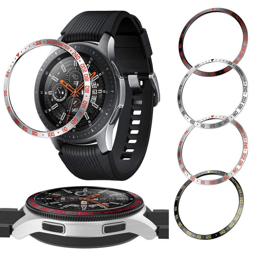 Замена БЕЗЕЛЬ для наручных часов часы кольцо замена аксессуары для samsung Galaxy 42 мм 46 мм R800 gear S3 Frontier|Смарт-аксессуары|   | АлиЭкспресс