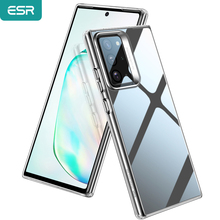 ESR Case for Samsung Galaxy Note 20/10 S20 Ultra for Note 10 Plus Hard Coverage Tempered Glass Case for Note 20 Ultra S20 Case