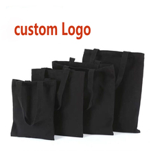 Canvas Bags Your-Logo Promotion Cotton Custom Durable Wholesales Fashion Women with Cloth