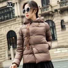 Ly Varey Lin Winter Short Down Jacket Women Ultra Light 90%