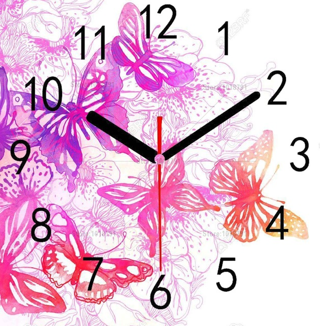 5D DIY Diamond Painting Home Decoration Wall Clock Diamond Painting Clock Cross Stitch Diamond Embroidery Wall Painting in Diamond Painting Cross Stitch from Home Garden