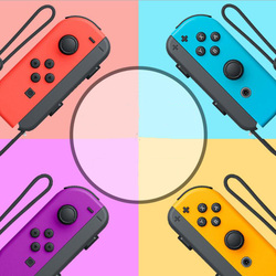 Bluetooth Gamepad For Nintendo Switch Joy-Con (L/R) Controller for Switch Wireless Joysticks Strap Dropshipping