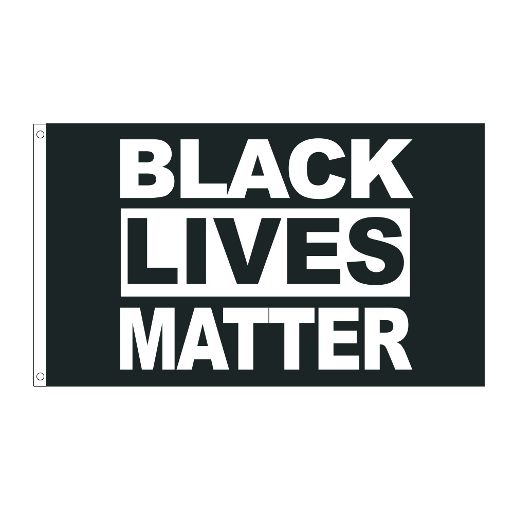3x5ft Black Lives Matter Polyester Flag BLM Peace Protest Outdoor Banner Pennant| |   - AliExpress