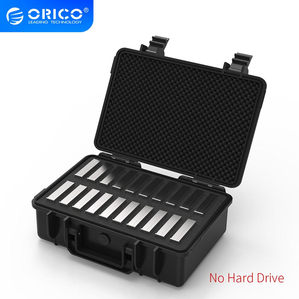 ORICO 20-bay 3.5 inch Hard Drive Protection Case with Water-proof Dust-proof Shock-proof HDD Storage and Protection (PSC-L20)