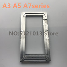Nauwkeurige Positionering aluminium mould voor samsung A3 A5 A7 2015 2016 2017 2018 lcd POSITIONERING oca lamineren mobiele telefoon reparatie(China)