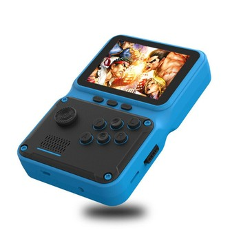 2021 JP09 retro mini portable electronic game console with 2.8-inch screen supporting 5 languages TV output 8