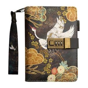 Image 5 - Kawaii A6โน้ตบุ๊คและวารสารSPIRAL Vintage Note Book Luxury DIY Agenda Planner Organizer Diary Travel Notepadล็อคของขวัญ