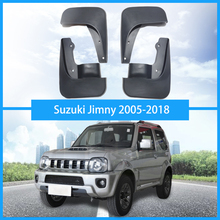For Suzuki Jimny Mud Flaps mudguards car Fender splash guard mud flaps auto accessories a set of 4pcs 2005-2018