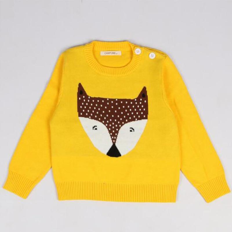 1-6Yrs New 2020 Boy Girl Long Sleeve Loving Heart Knitted Sweater Autumn Winter Boys Girls Sweaters For Baby Girls Kids Sweater 24