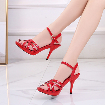 Women's Patent Leather Sandals