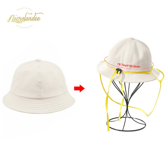 NICROLANDEE Fisherman Cap with Removable Shield Anti-Spitting Anti Saliva Fog Windproof Dustproof Hat Protection for Children 3