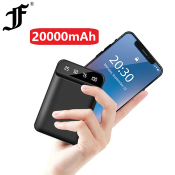 Power Bank 20000mAh Dual USB Mobile Phone External Battery Fast Charge For iphone xiaomi mi Portable Charger mini PowerBank