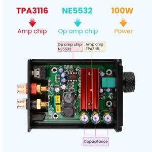 Image 5 - AIYIMA TPA3116 100W Subwoofer wzmacniacz Audio TPA3116D2 Mono cyfrowe wzmacniacze mocy Amplificador z NE5532 OP AMP