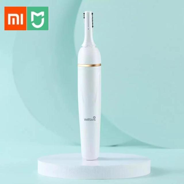 Xiaomi Wellskins חשמלי גילוח נשים גוף סכיני קרמיקה חותך עבור גוף רגל ביקיני שיער הסרת שיער גוזם נשים שיער קליפ