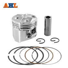 AHL Motorcycle Engine Parts STD ~+50 Cylinder Bore Size 48 mm 48.25 mm 48.5mm Pistons & Rings For YAMAHA FZR250 FZ250 1HX