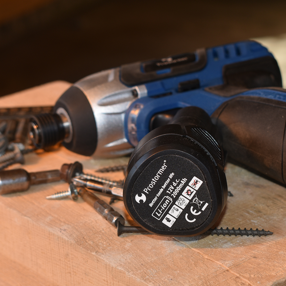 Image 5 - PROSTORMER 100 нм электрическая отвертка 12 В аккумуляторная дрель литиевая батарея аккумуляторная Шестигранная аккумуляторная отвертка винт-in Электрические отвертки from Инструменты on