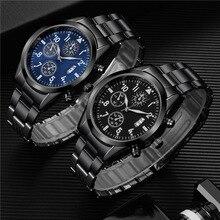 New Famous Mens Luxury Watches Men Date Calendar Luminous Qu