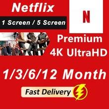 Netflixes premium acc 1-5 telas disponíveis em todo o mundo 100% 4k ultra hd