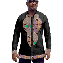 African mens tops made to measure men african clothes fashion shirt of africa clothing