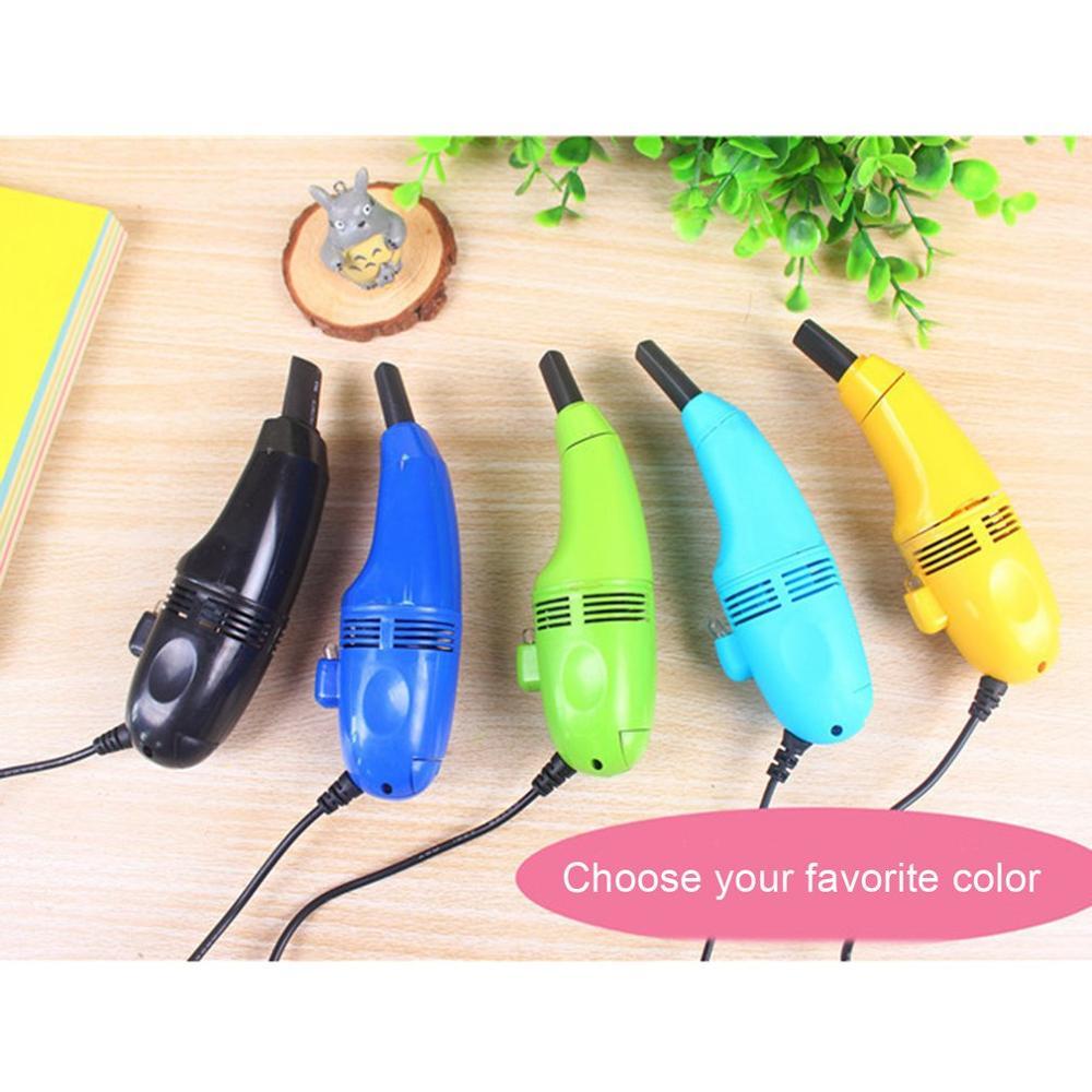 Mini ordinateur aspirateur USB clavier nettoyant PC portable brosse poussière Kit de nettoyage aspirateur ordinateur propre outils