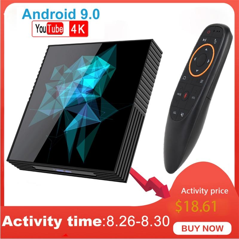 Smart Android Tv-Box Bluethooth Google Play H96MAX A95X 64GB Rockchip 32GB PK